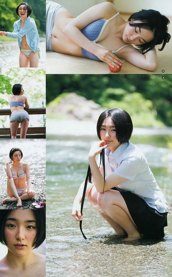 早乙女ゆう ヤングアニマルの最新Dカップ水着グラビア 画像25枚 12