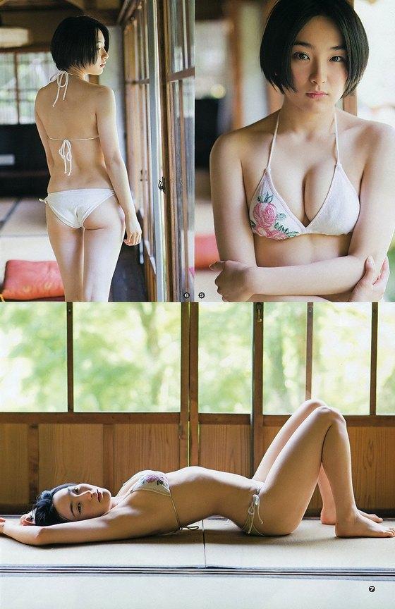 早乙女ゆう ヤングアニマルの最新Dカップ水着グラビア 画像25枚 15
