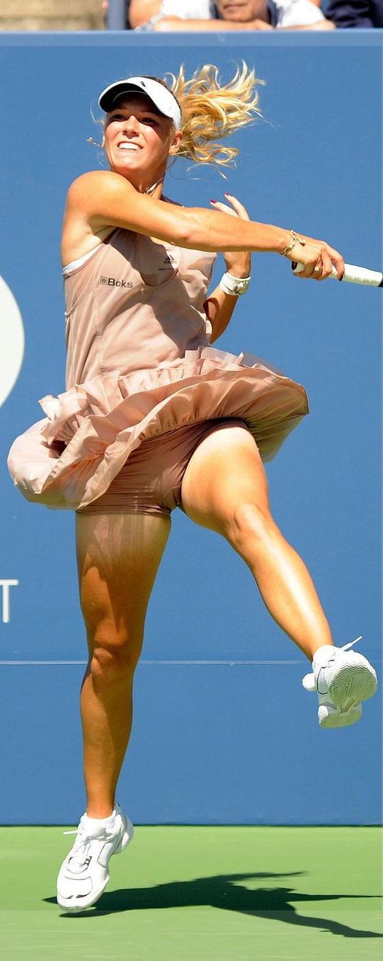女子テニスプレイヤー達の股間に食い込んだマン筋 画像32枚 10