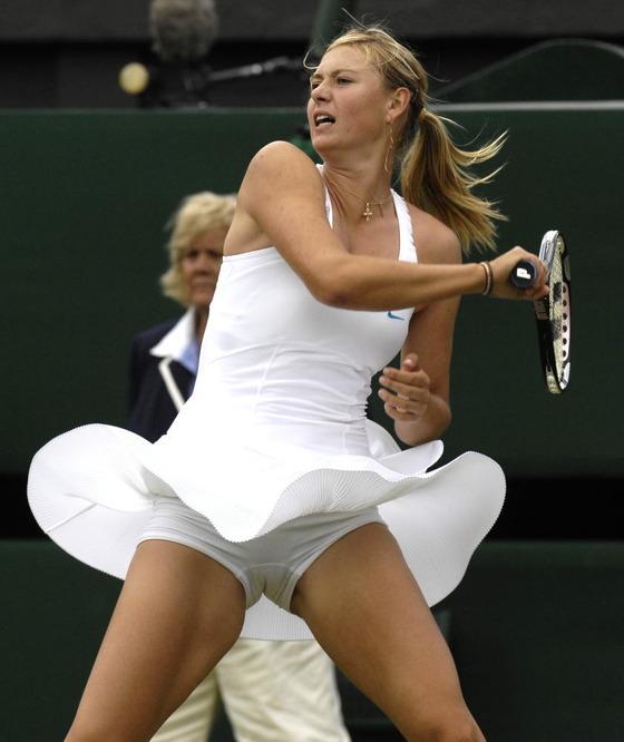 女子テニスプレイヤー達の股間に食い込んだマン筋 画像32枚 5