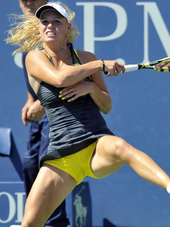 女子テニスプレイヤー達の股間に食い込んだマン筋 画像32枚 8