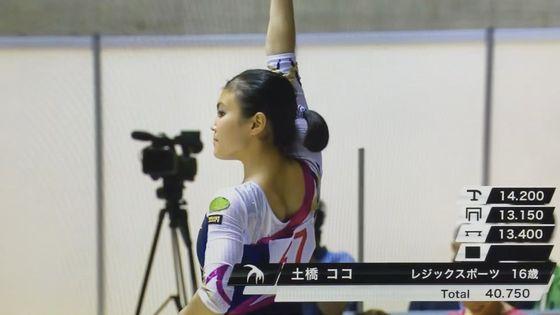 土橋ココ リオ五輪閉会式動画の現役女子校生新体操選手 画像13枚 3