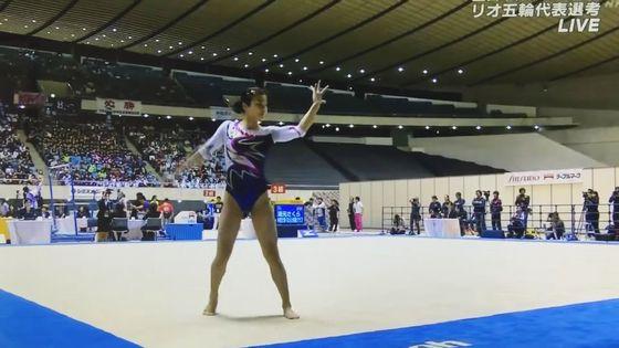 土橋ココ リオ五輪閉会式動画の現役女子校生新体操選手 画像13枚 5