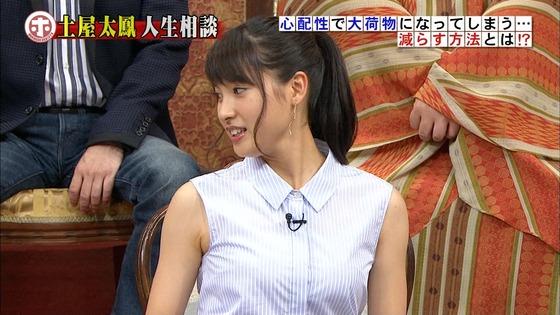 土屋太鳳 ホンマでっか!?TVのDカップ着衣巨乳&腋チラキャプ 画像30枚 15