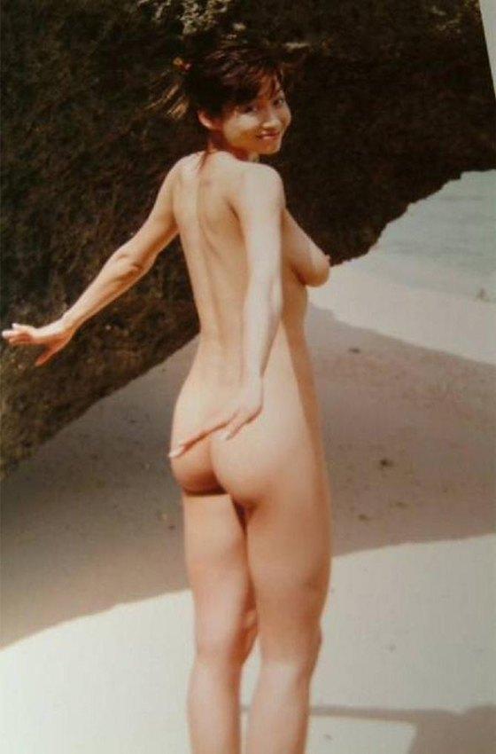 細川ふみえ フラッシュ袋とじの熟女ヌードグラビア 画像25枚 23