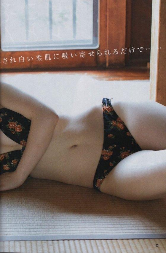 高橋朱里 ヤングジャンプの水着姿Dカップ谷間グラビア 画像25枚 8