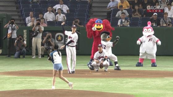長谷川玲奈 プロ野球の始球式で披露した太ももキャプ 画像31枚 10