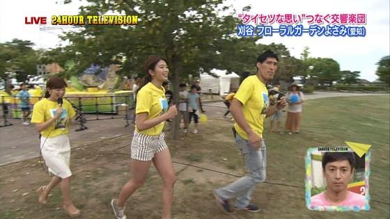 長谷川玲奈 プロ野球の始球式で披露した太ももキャプ 画像31枚 17