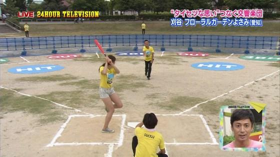 長谷川玲奈 プロ野球の始球式で披露した太ももキャプ 画像31枚 19