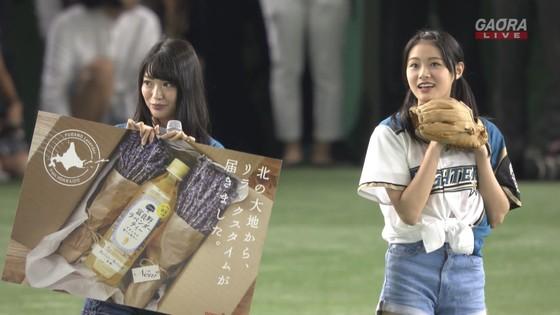 長谷川玲奈 プロ野球の始球式で披露した太ももキャプ 画像31枚 5