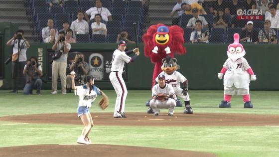 長谷川玲奈 プロ野球の始球式で披露した太ももキャプ 画像31枚 8
