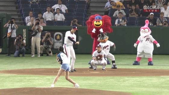 長谷川玲奈 プロ野球の始球式で披露した太ももキャプ 画像31枚 9