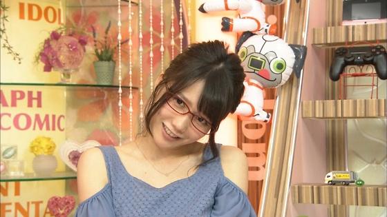 加藤里保菜 ランク王国のメガネなしコスプレ姿キャプ 画像30枚 19