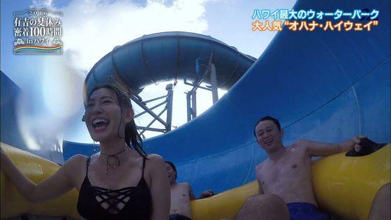 小嶋陽菜 有吉の夏休み2016の変態水着Dカップキャプ 画像18枚 10