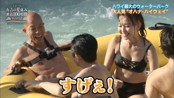 小嶋陽菜 有吉の夏休み2016の変態水着Dカップキャプ 画像18枚 12