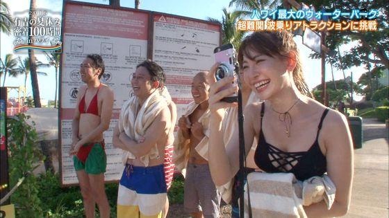 小嶋陽菜 有吉の夏休み2016の変態水着Dカップキャプ 画像18枚 14
