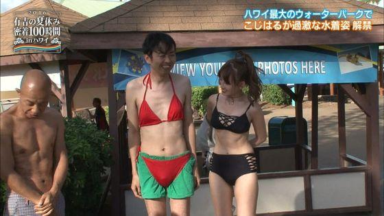 小嶋陽菜 有吉の夏休み2016の変態水着Dカップキャプ 画像18枚 4