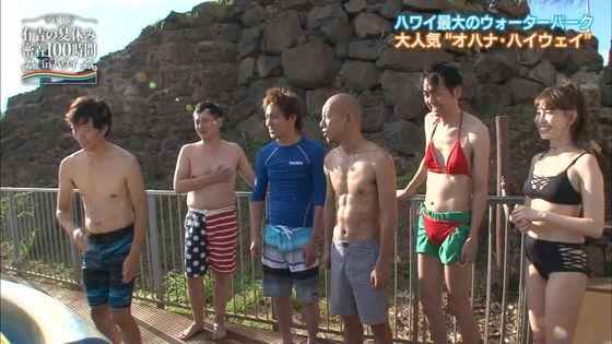 小嶋陽菜 有吉の夏休み2016の変態水着Dカップキャプ 画像18枚 8