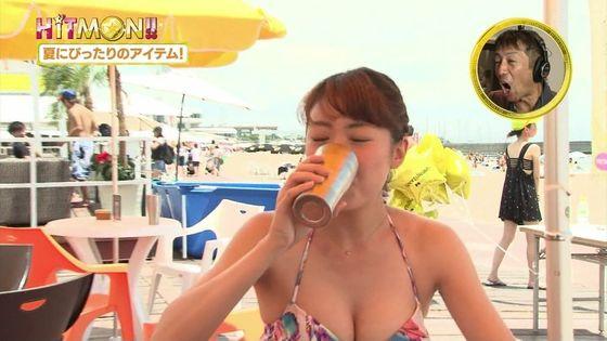 テレビ番組で見れた素人女性の水着谷間キャプ 画像29枚 8