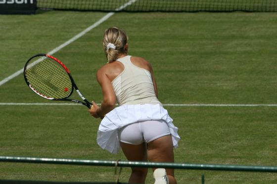 女子テニス選手の透けパンやお尻の食い込みをキャッチ 画像43枚 13