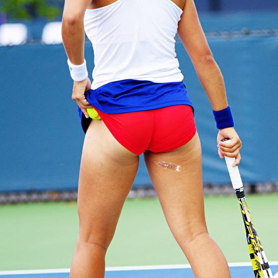 女子テニス選手の透けパンやお尻の食い込みをキャッチ 画像43枚 26