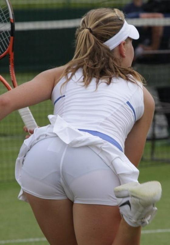 女子テニス選手の透けパンやお尻の食い込みをキャッチ 画像43枚 2