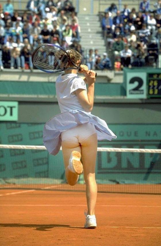 女子テニス選手の透けパンやお尻の食い込みをキャッチ 画像43枚 31
