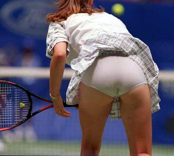 女子テニス選手の透けパンやお尻の食い込みをキャッチ 画像43枚 37