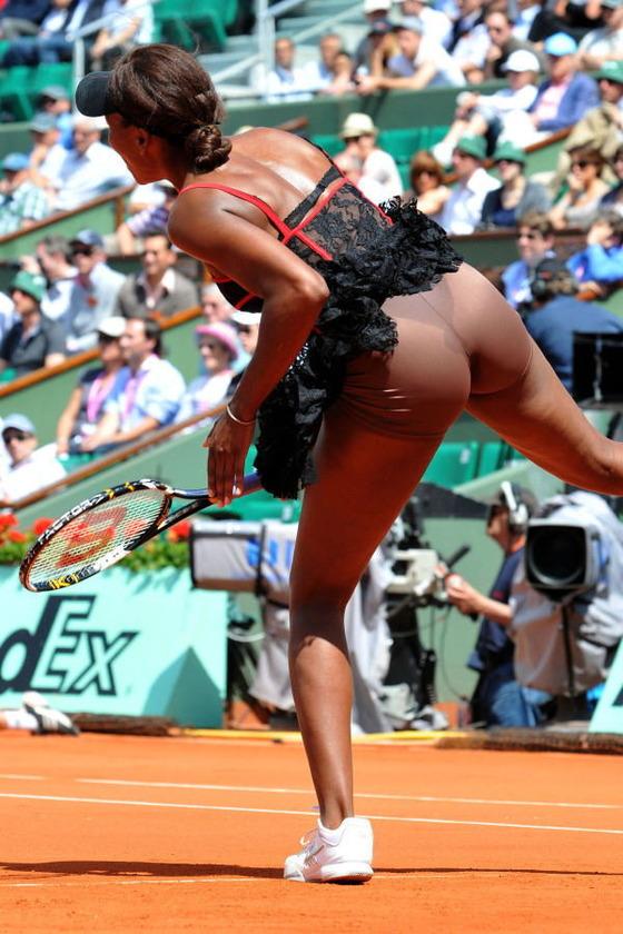 女子テニス選手の透けパンやお尻の食い込みをキャッチ 画像43枚 3