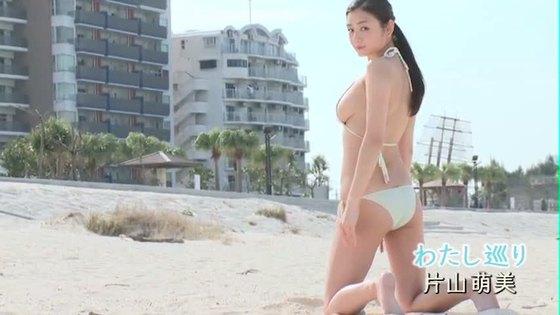 片山萌美 ヤングジャンプの写真集先行Gカップ手ブラグラビア 画像47枚 13