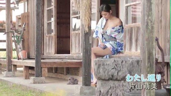 片山萌美 ヤングジャンプの写真集先行Gカップ手ブラグラビア 画像47枚 15