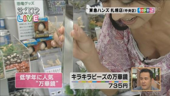 放送事故寸前な女性芸能人達の胸チラお宝キャプ 画像60枚 10