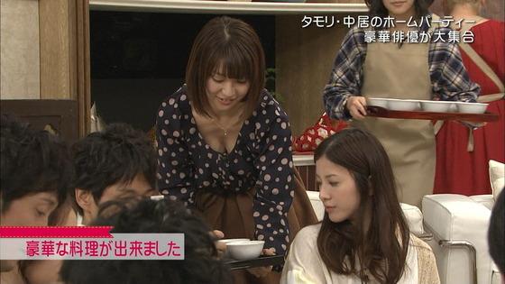 放送事故寸前な女性芸能人達の胸チラお宝キャプ 画像60枚 45