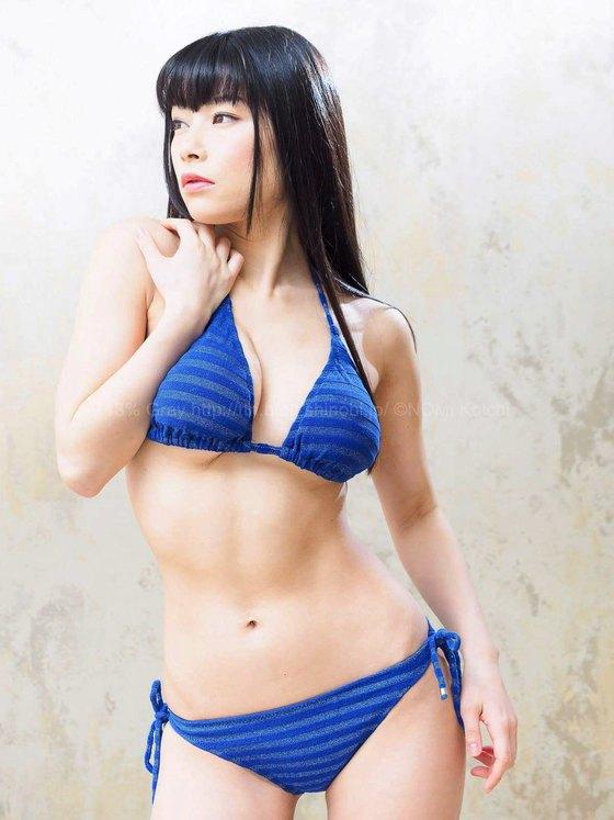 春野恵 サキュバスのGカップ乳首透け&食い込みキャプ 画像50枚 47