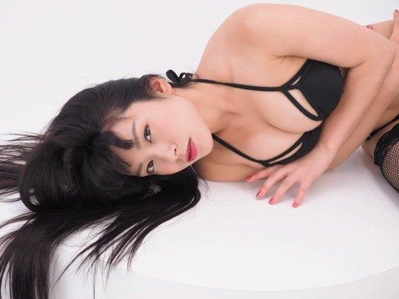 春野恵 サキュバスのGカップ乳首透け&食い込みキャプ 画像50枚 49