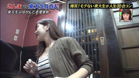 石原佑里子 さんまの番組で東大生に見せたFカップ巨乳キャプ 画像29枚 6