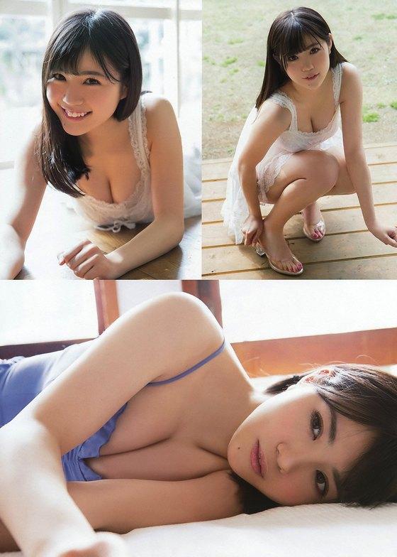 田中優香 ヤングチャンピオンのGカップ爆乳水着グラビア 画像24枚 17