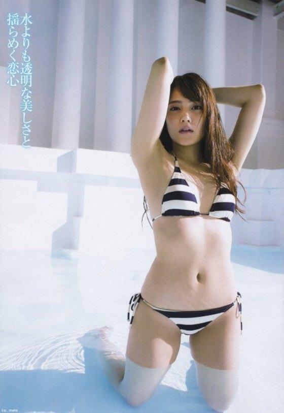 入山杏奈 EX大衆の水着姿Eカップ谷間最新グラビア 画像29枚 20