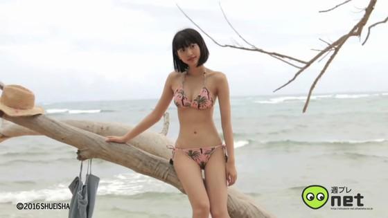 武田玲奈 週プレ水着グラビア撮影メイキング動画キャプ 画像30枚 12
