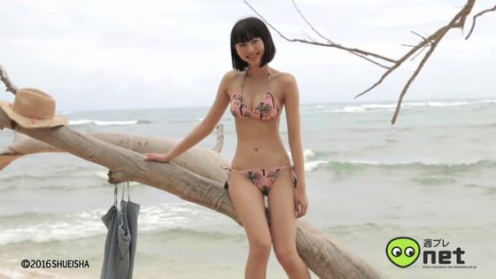 武田玲奈 週プレ水着グラビア撮影メイキング動画キャプ 画像30枚 13