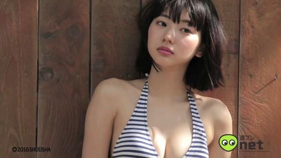 武田玲奈 週プレ水着グラビア撮影メイキング動画キャプ 画像30枚 23