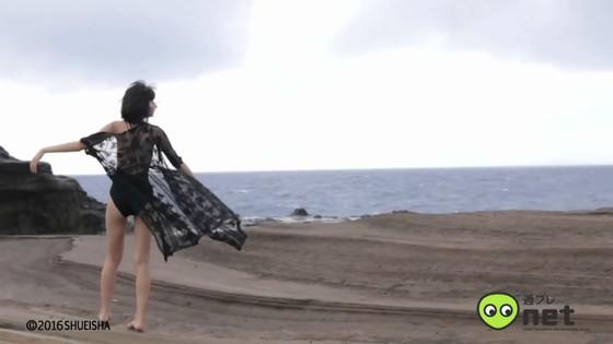 武田玲奈 週プレ水着グラビア撮影メイキング動画キャプ 画像30枚 24
