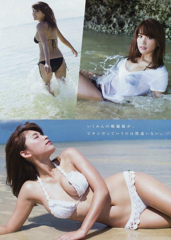 久松郁実 ヤングマガジンのFカップ水着姿最新グラビア 画像38枚 3