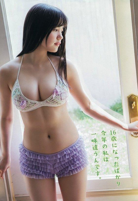 田中優香 ヤングアニマルの水着Gカップ谷間グラビア 画像21枚 17