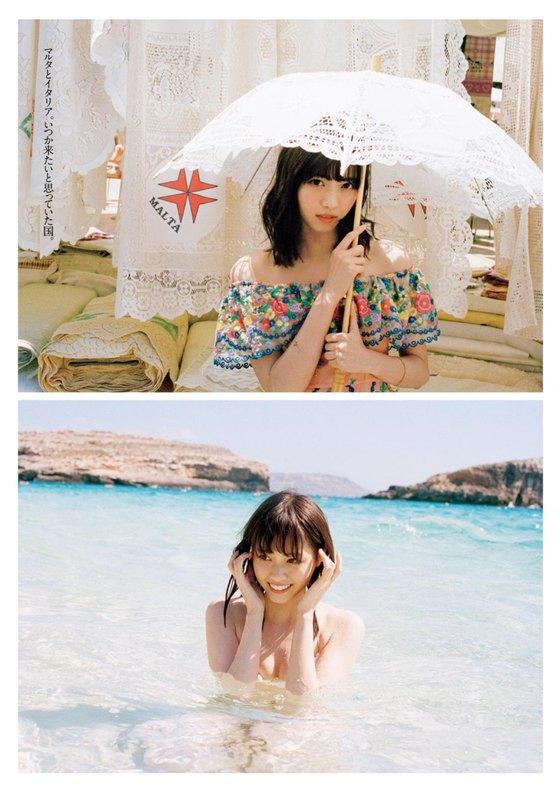 西野七瀬 週プレの写真集先行水着グラビア 画像24枚 4