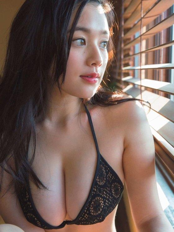 筧美和子 ヤンマガの最新Hカップ爆乳ハミ乳水着グラビア 画像26枚 10