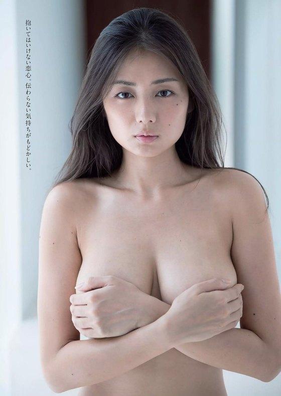 片山萌美 写真集人魚の手ブラ&ノーブラGカップ爆乳 画像21枚 9