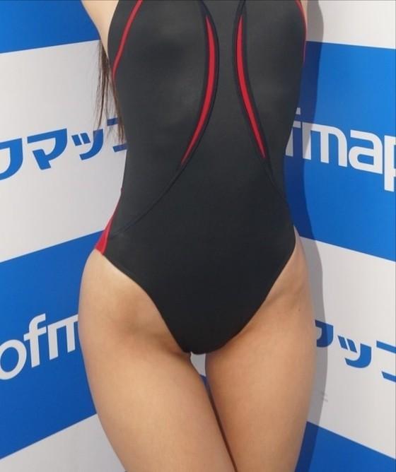 川崎あや 競泳水着姿のソフマップPR販促イベント 画像30枚 13