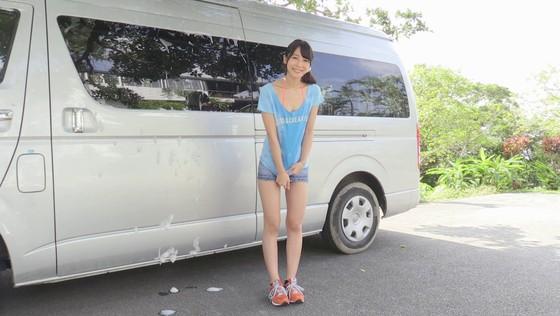 川崎あや 競泳水着姿のソフマップPR販促イベント 画像30枚 15