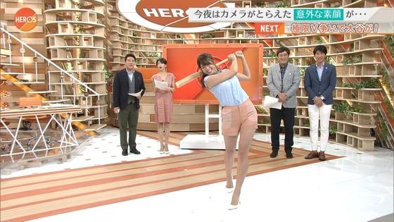 稲村亜美 ショートパンツ姿のむっちり太ももキャプ 画像30枚 14